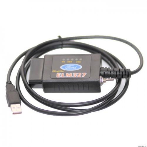 Диагностический адаптер Forscan ELM327 USB HS +MS CAN с переключателем