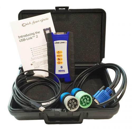 Nexiq 123032 USB-Link 2 Bluetooth - Автосканер для диагностики американских грузовых автомобилей