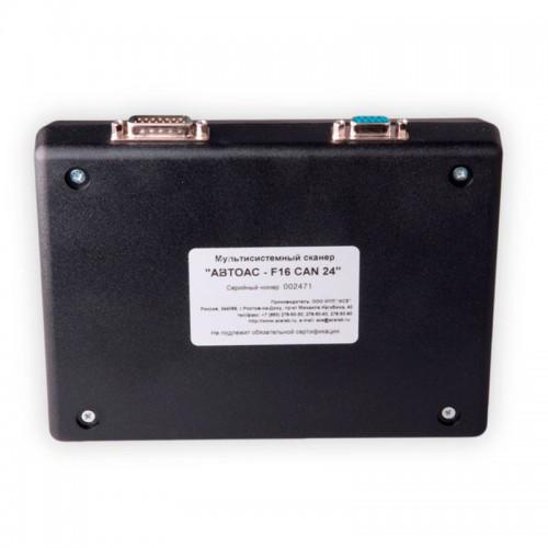 АВТОАС-F16 CAN 24 Портативный бескартриджный сканер