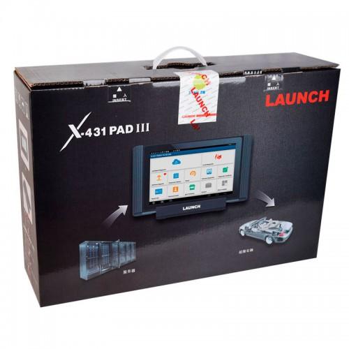 Launch X431 PADIII V.2017 - многофункциональный мультимарочный сканер
