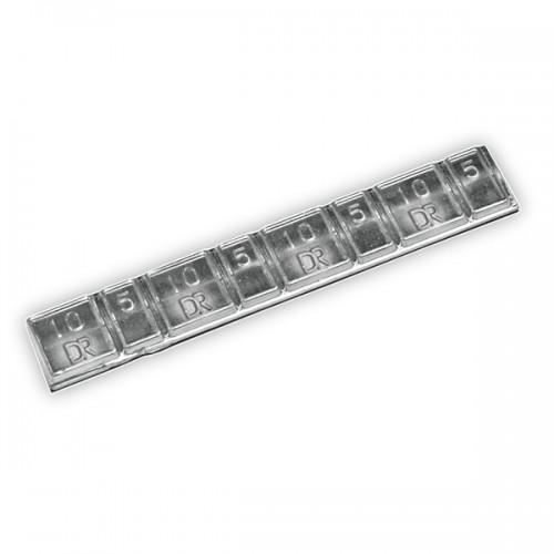 Грузики балансировочные самоклеющиеся Dr. Reifen 0062, 50 шт., тонкие