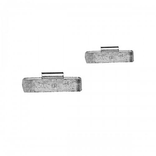 Грузики балансировочные CLIPPER для грузовых дисков 010250, 250г, 10 шт