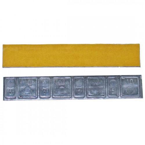 Грузики балансировочные самоклеющиеся  CLIPPER 0042 набор 50 шт