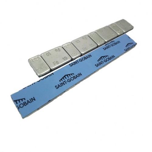 Грузики балансировочные самоклеющиеся Dr. Reifen GZ-0072, 50 шт. 5gх4+10gх4, оцинкованные