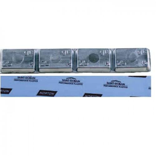 Грузики балансировочные самоклеющиеся CLIPPER 0065 набор 25 шт