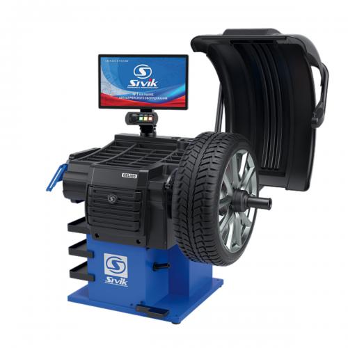 Балансировочный станок СИВИК ГЕЛИОС с УЗ, ЭВМ (SIVIK GELIOS) СБМП-60/3D Plus (УЗ, ЭМВ)