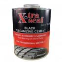 Клей черный для горячей вулканизации X-TRA SEAL 14-515, 1л.