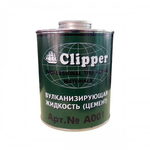 Клей для холодной вулканизации A001, 1 л, зеленый CLIPPER