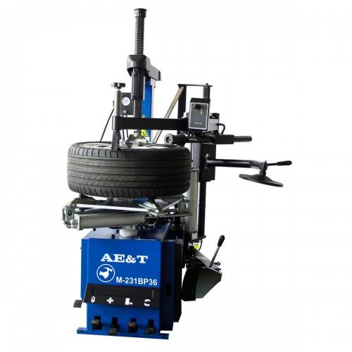 Шиномонтажный станок автомат M-231BP36 AE&T (220В) с третьей рукой и взрывной накачкой