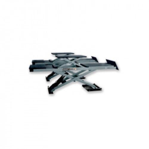 N11350 Подъемник ножничный 4т KraftWell KRW4WALT с подъемом второго уровня