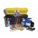Портативное устройство для вакуумирования и заправки систем кондиционирования для сельхозтехники и автобусов (Артикул: SMC-041-3 New)