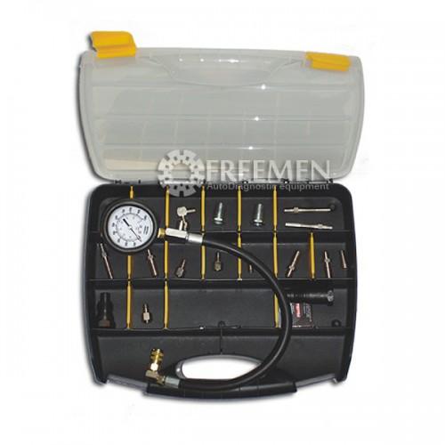 SMC-104 EUROPE Компрессометр для измерения компрессии в дизельных двигателях микроавтобусов, грузовых автомобилей