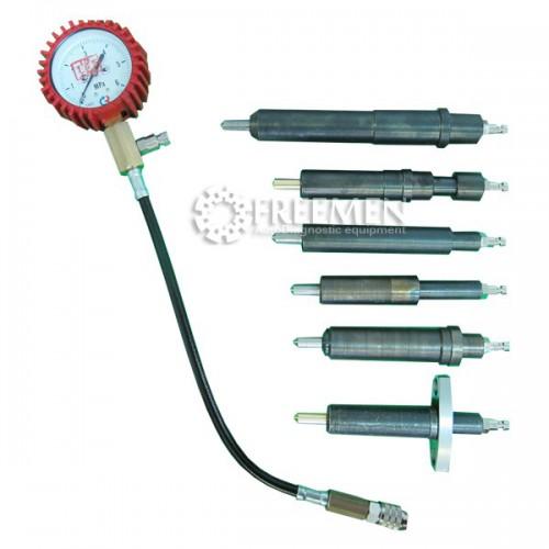 Компрессометр для дизельных двигателей грузовых автомобилей российского производства SMC-105/2