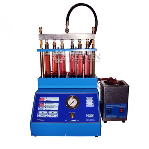 Стенд для УЗ очистки и диагностики инжекторов с автоматическим сливом (Артикул: SMC-3002АE)