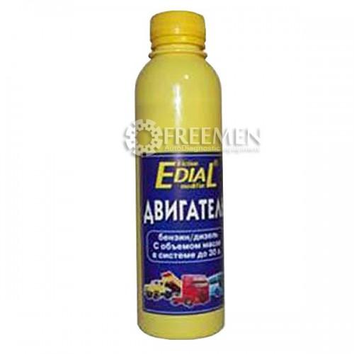 Ремонтно-восстановительный состав в масло для двигателя грузового автомобиля Эдиал