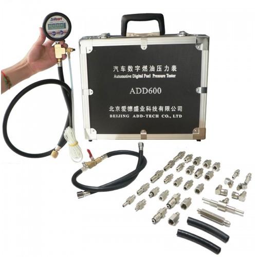 Электронный измеритель давления топлива с комплектом адаптеров (Артикул: ADD600)