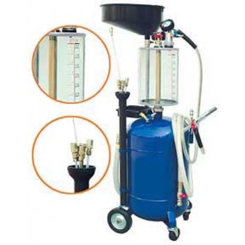 Установка для откачки и слива масла с предкамерой (Артикул: AODE290)