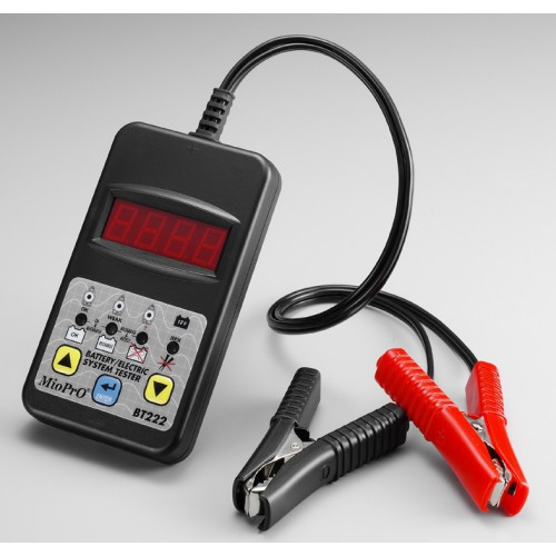 Электронный тестер аккумуляторных батарей (Артикул: BT222)