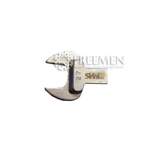 AC0516-CR27 Ключ. Размеры соединения: 14x18 мм, размеры ключа: 27 мм., SIRINI (ИТАЛИЯ)