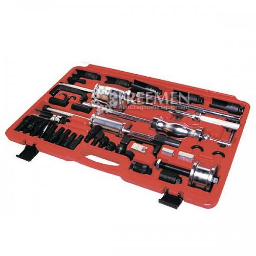 Универсальный набор съемников для демонтажа форсунок CR Bosch, Siemens, Delphi, Denso (Артикул: FAR-WT04A3001)