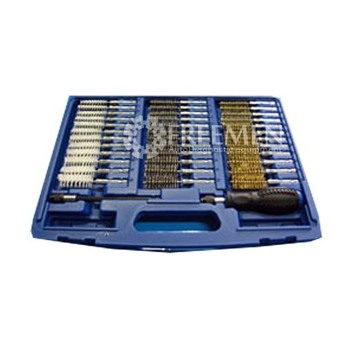 Набор из 36 ершиков для чистки в двигателе седла форсунок и свечей, SIRINI (ИТАЛИЯ) (Артикул AZ0050-00)