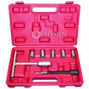 Набор разверток для ремонта форсунок Bosch и Delphi (Артикул: FAR-WT04A3014)