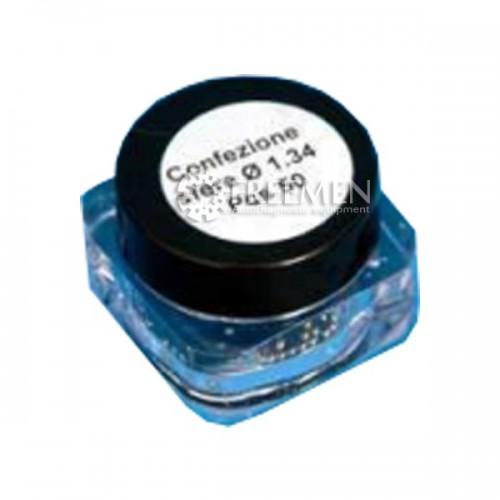 1.50 мм Калибровочные шарики ( керамические) для ремонта клапанов BOSCH в форсунках COMMON RAIL SIRINI (ИТАЛИЯ) (Артикул: BK 0046-CR)