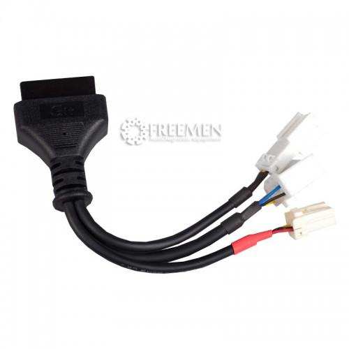 Диагностический разъем Hyundai/KIA 6+1 pin (программирование брелоков)