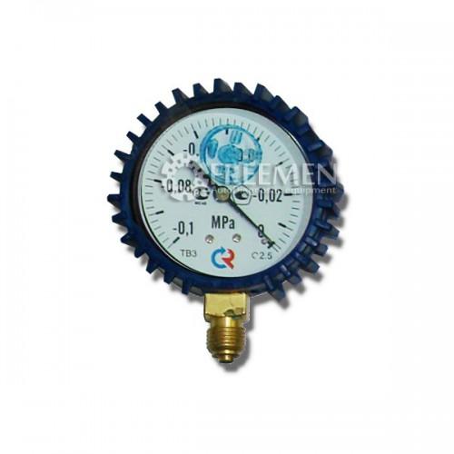 Вакууметр в защитном чехле -0,1-0 Bar (-0.1 МПА до 0)